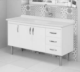 Título do anúncio: Gabinete de Cozinha 1,50 NOVO (Montado)