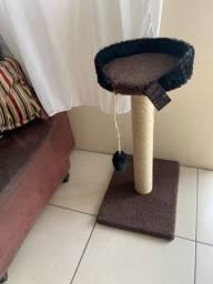 Arranhador tradicional base redonda para gatos