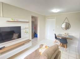 Apartamento nascente com 02 quartos/blindex no banheiro e projetados (TR81801) MKT
