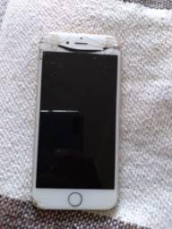 Iphone 6s quebrado Troco por prata