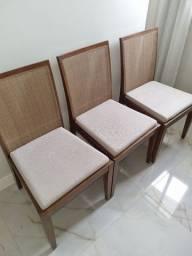 Título do anúncio: Cjo 06 cadeiras madeira