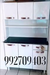 Armário de cozinha em aço, Novo