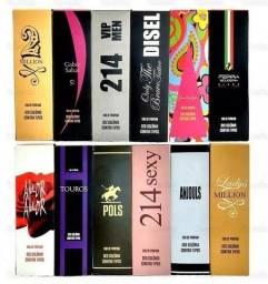 Kit 6 Perfumes 100ml - Revenda - Barato!