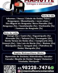 Entregas região metropolitana de Goiânia