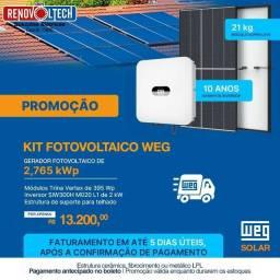 Título do anúncio: Kit fotovoltaico