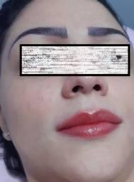 Micropigmentação de sobrancelhas, boca ou olhos
