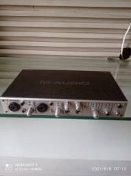 Vendo placa de áudio M- Audio