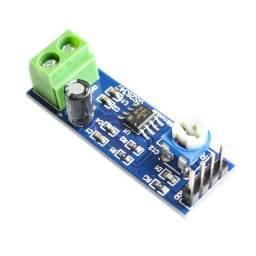 Módulo Amplificador De Áudio Lm386 Ajustável 5v A 12v