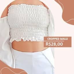 Título do anúncio: CROPPED MALU