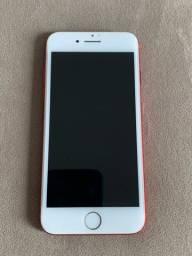 iPhone 7 128gb vermelho em perfeito estado