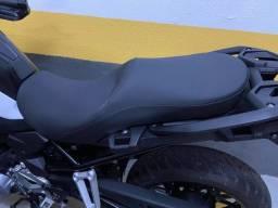 Banco Confort moto BMW F 750 GS 20/21 - Pedrinho Bancos.