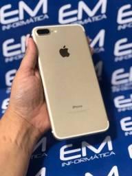 IPhone 7 Plus 128Gb Gold - Seminovo - com nota e garantia, somos loja fisica