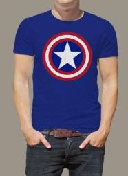 Camisa capitão américa camiseta capitão america
