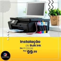 Instalação de Bulk Ink com o menor preço da cidade