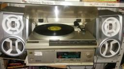 Conjunto completo Receiver toca disco Gradiente Ds40