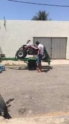 Carrocinha para quadriciclo empacada