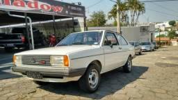 Vw - Volkswagen Voyage LS Placa Preta Original - 1986