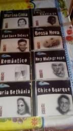 8 cds Toquinho, Blitz, Brasil 500 Anos e outros