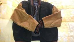 Jaqueta de couro - Tamanho G