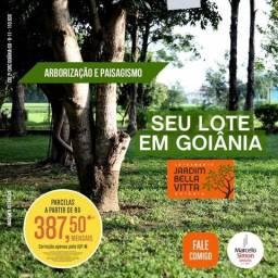 Lote sem entrada em Goiânia e parcelas de R$ 387,50