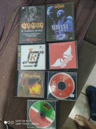 Lotes de dvd e cd , IRON, Aerosmith, ACDC.