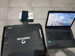 Vendo notebook positivo XC3550