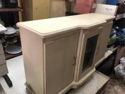 Buffet aparador rack com porta de vidro OFERTA