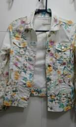 Jaqueta estampa floral