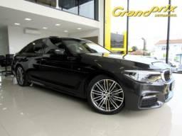 BMW 540i 3.0 24V TURBO GASOLINA M SPORT AUTOMÁTICA 2018 CINZA COMPLETA ÚNICO DONO! - 2018