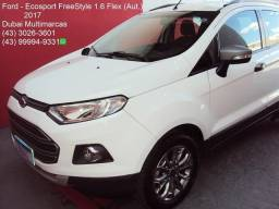 Ford - Ecosport FreeStyle 1.6 Flex (Aut.) - Completo - Branco - 2017