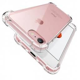 Capa anti impacto transparente para iphone 7/8