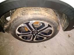 Rodas hrv aro 17 com 3 pneus