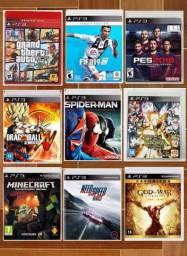 Jogos Playstation 3 originais