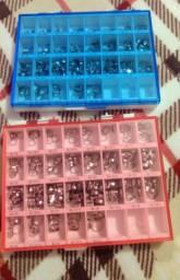 Dois kits de bandas ortodônticas morelli inferior e superior (260 unidades cada caixa).