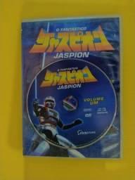 5 DVDs originais conservados