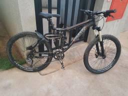 Bike aro 26 full, all mountain, trotz