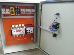 Painel automático para gerador Qta Rampa Paralelismo manual