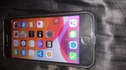 IPhone 7 detalhes no botão home. Aceito troca