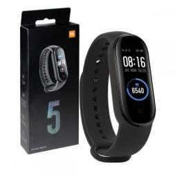 Pulseira Relógio Inteligente Smartband M5 Monitor Cardíaco Resistente a agua