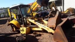 Título do anúncio: Peças de Retro Escavadeira New Holland (desmanche)