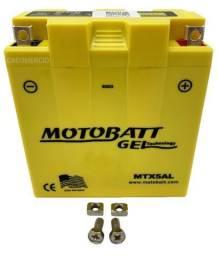 Bateria Gel Motobatt Mtx5al Yb5l-b Yamaha XTZ 125 YBR 125 RD 125 RDZ 135 Crypton T115