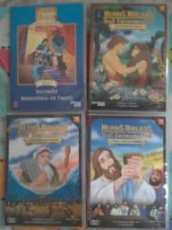 17 dvd desenho biblico abraao ester jose samuel daniel moises ruth paulo joao