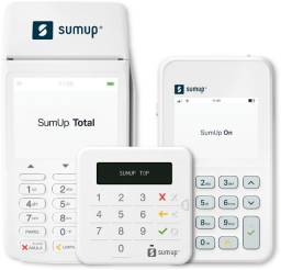 Maquininha de aceitar cartão Sumup (Credito / Debito)