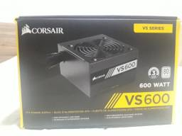 Fonte Corsair VS600 com defeito