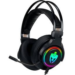 Fone Headset Gamer Agni Eg340 Evolut Led Rgb Usb 7.1 Pc/Ps4 (Promoção)
