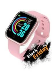 Relógio Smartwatch rosa D20