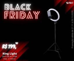 "Ring Light 10"" Polegadas-Black Friday-(Lojas Wiki)"