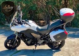 Kawasaki Versys 1000 Trail Branca Impecável + Alforges