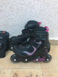 Patins oxelo active fit.3 76 mm wheels