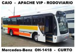 Onibus Caio Apache Vip Rodoviario - Mercedes OH1418 - 2005 - 43 Lugares